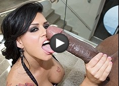 Eva Angelina 14 Inch Monster In Her ASS