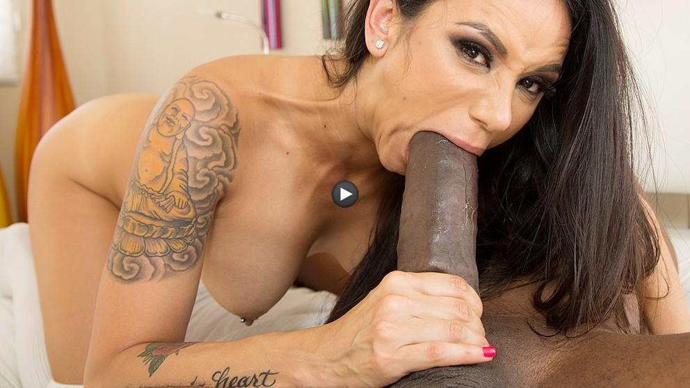 Rachel starr takes huge cock