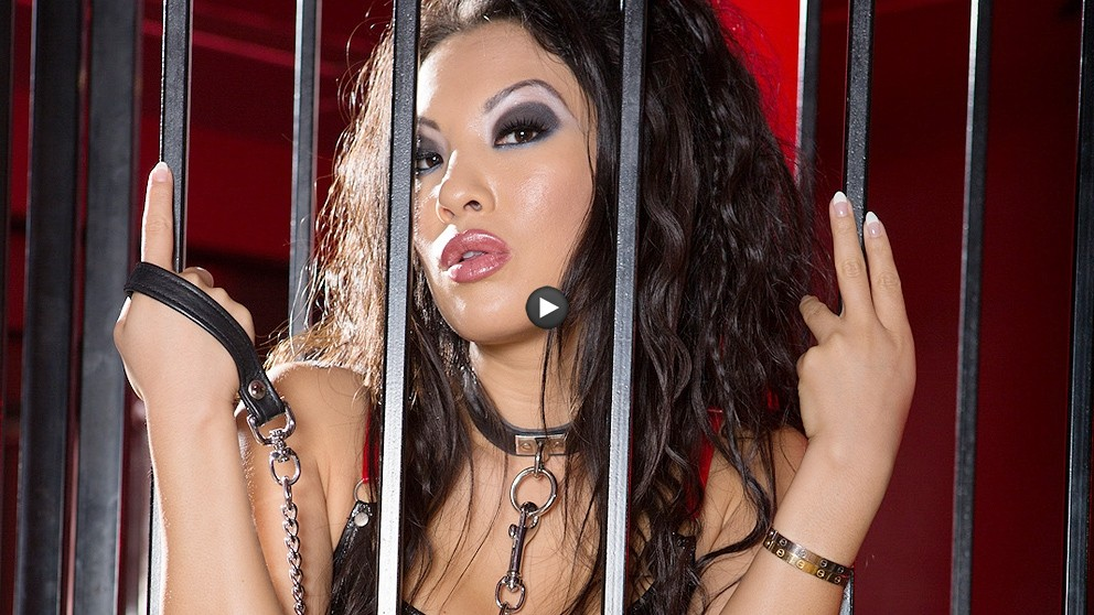 Watch Trailer Asa Akira Caged For An Anal Drilling