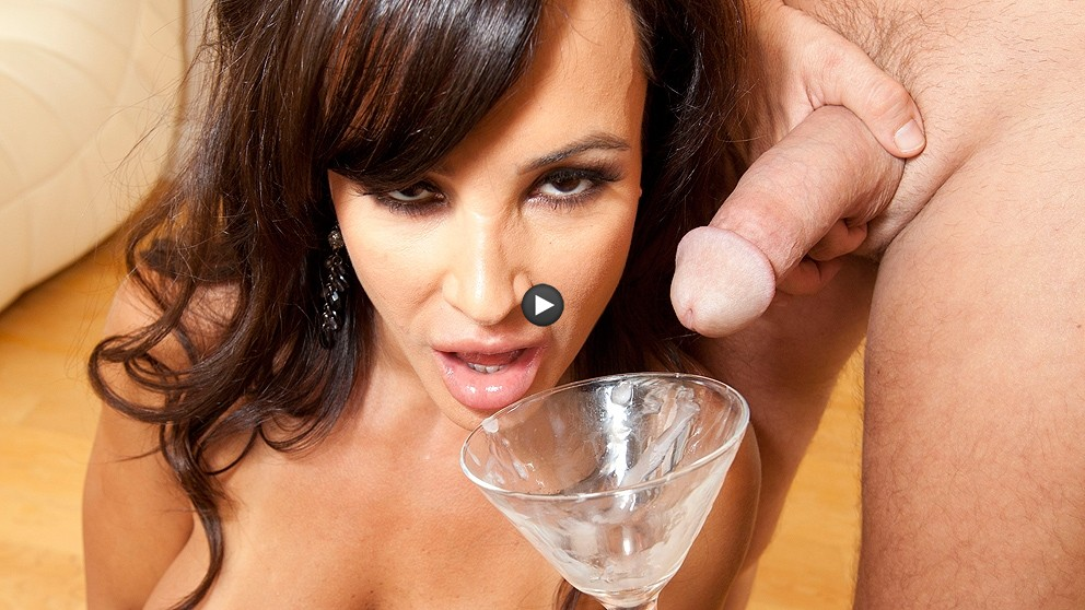 Watch Trailer Lisa Ann Drinks A Sperm Cocktail
