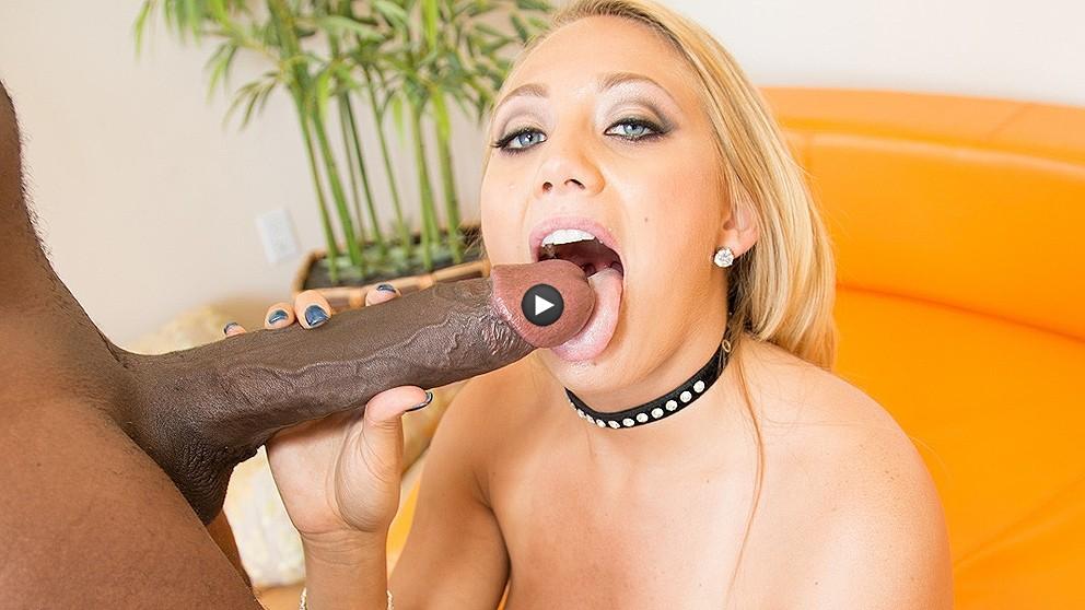 Watch Trailer Aj Applegate First Black Cock 14inch Mandingo
