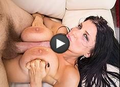 Romi Rain Manuel Ferrara's Cock Between Her Tits