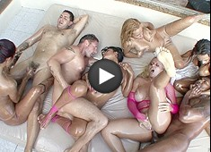 Oil Overload Brazilian Orgy Party