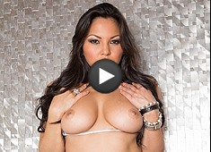 Adrianna Luna Hot Latina Is On Fire