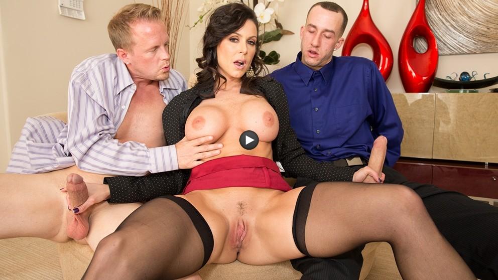 Watch Trailer Kendra Lust Big Tit MILF Double Dicked