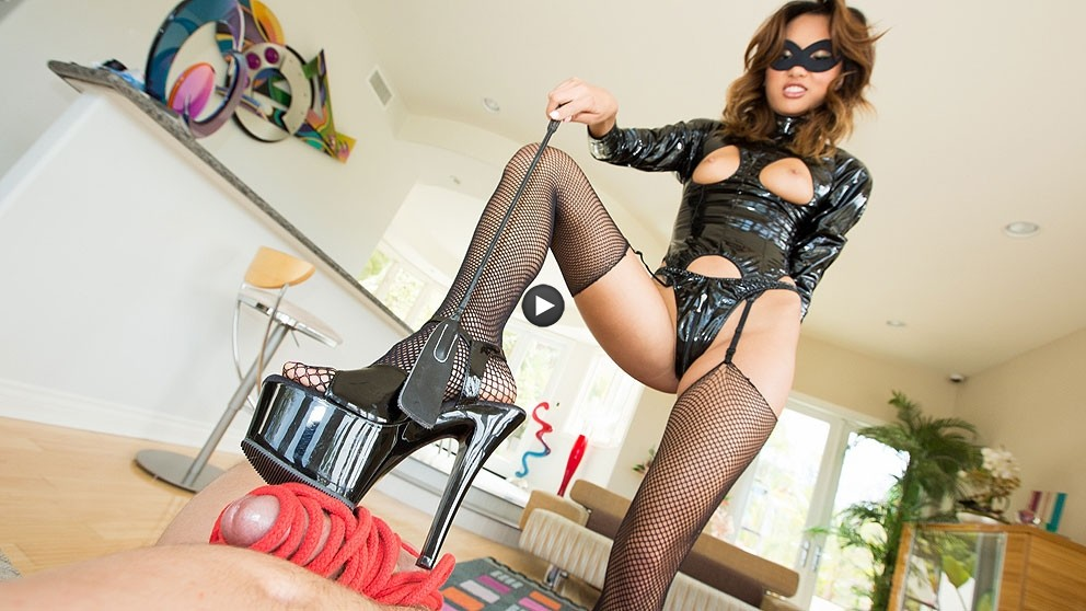 Watch Trailer Alina Li Asian Domination… She Holds Jules Jordan's Cock Hostage!