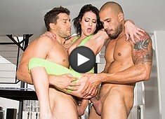Chase Ryder 1st DP Two Cocks Are Better Than One!
