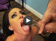Jessica Jaymes Gets Hit With A Manuel Ferrara Facial Tsunami