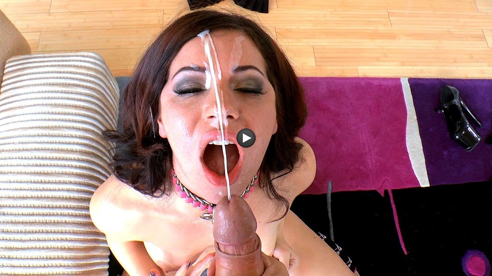 Watch Trailer Belle Noire POV, Gives A Sloppy Blow Job.