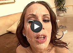 McKenzie Lee Anal, Followed By A Facial Shower From Big Black Cocks