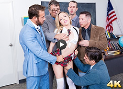 Aubrey Star Has A Horny Teachers Conference