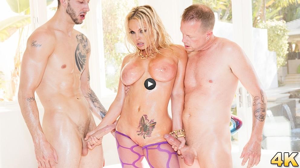 Watch Trailer Jesse Gets Oiled Down & Torn Up By Jules Jordan & Chris Strokes