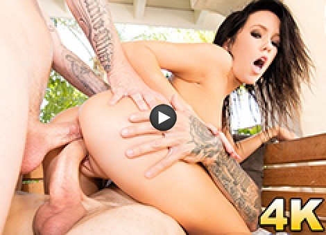Megan Rain Naughty Teen Dp'd