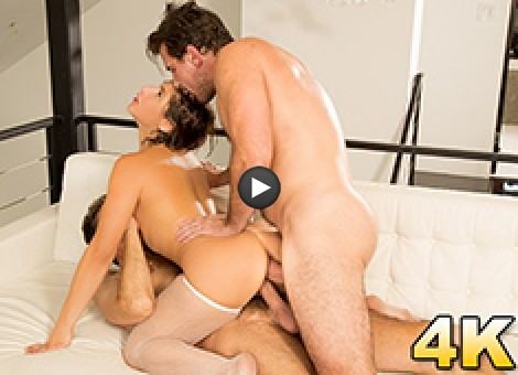 Abella Danger's Seasoned ASS & Pussy In Danger Of A Dp
