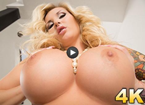 Jarushka Ross Doesn't Speak English, But We Know Big Tits Is A Universal Language