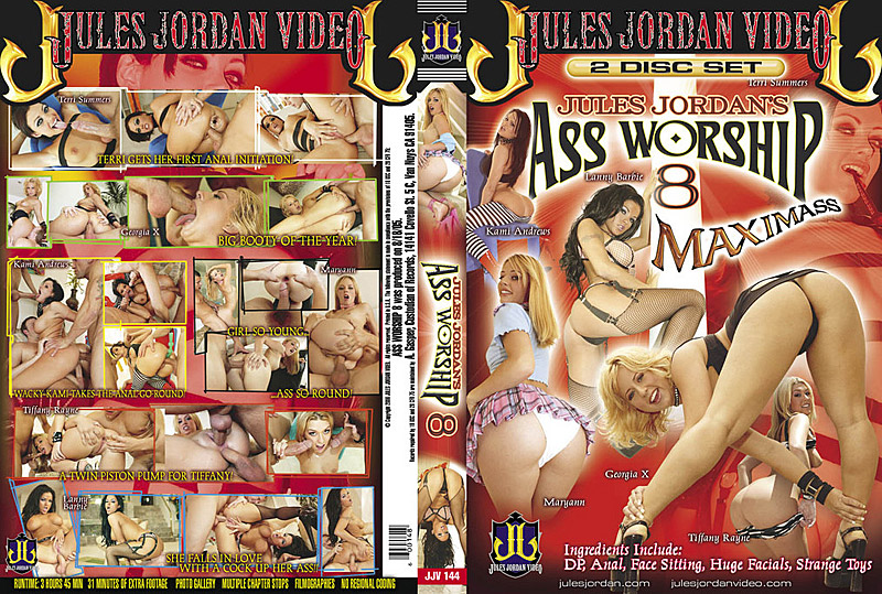 Ass Worship 8 DVD