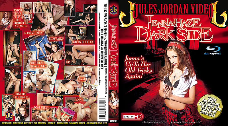Jenna Haze Darkside Blu-Ray DVD