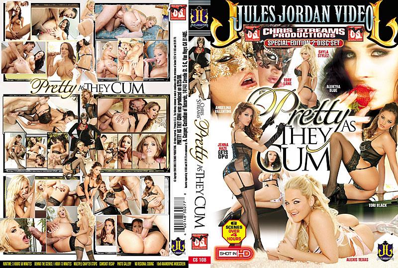 Pretty As They Cum DVD