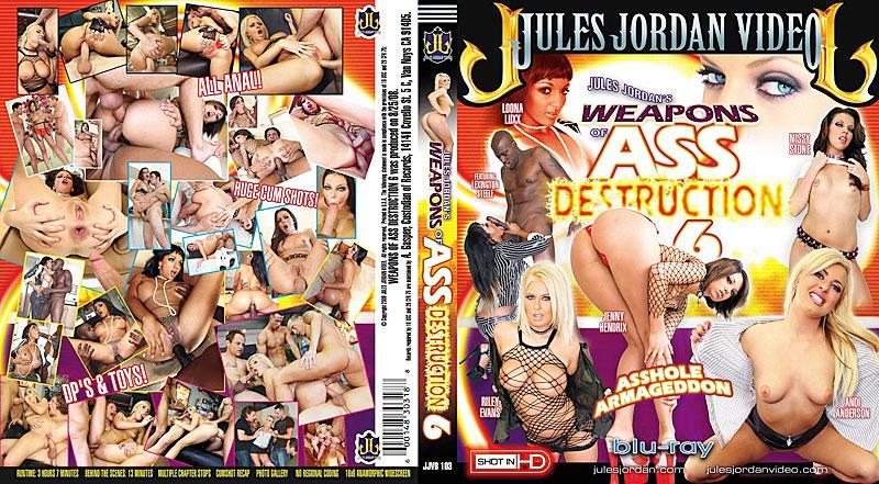 Weapons of Ass Destruction 6 Blu-Ray DVD