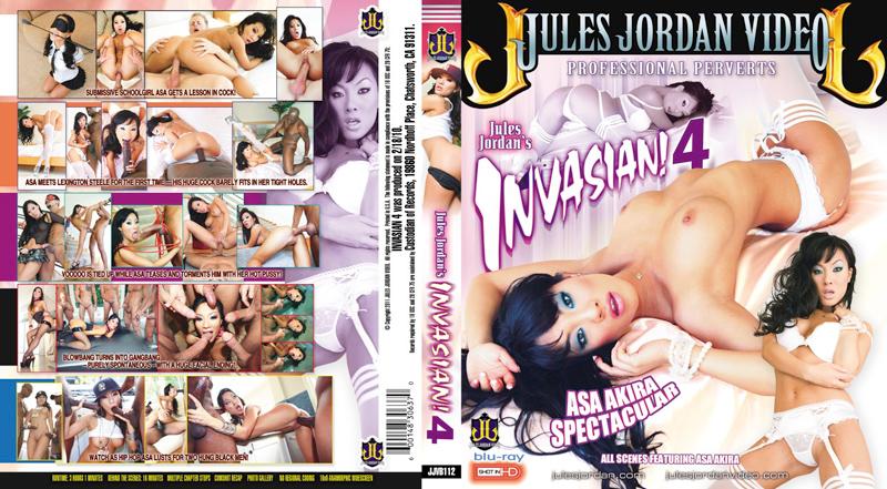 Invasian 4 BluRay DVD