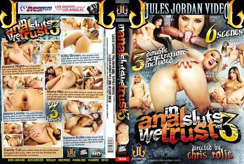 In Anal Sluts We Trust 3 DVD