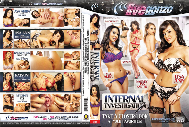 Internal Investigation DVD