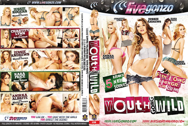 Youth Going Wild DVD