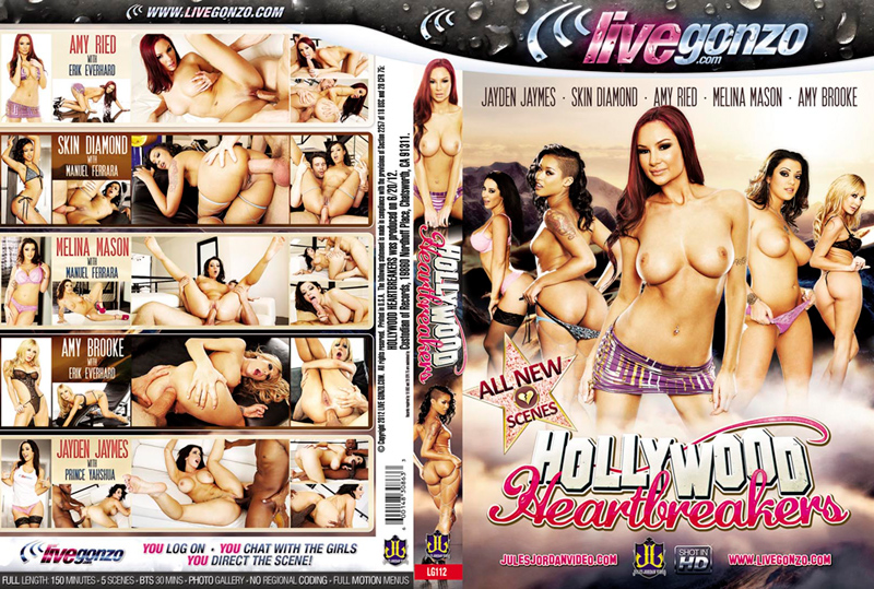 Hollywood Heartbreakers DVD