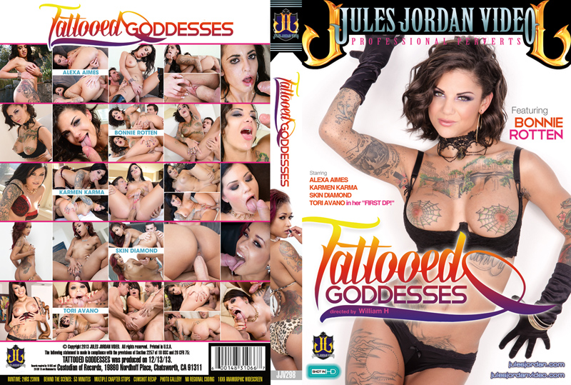 Tattooed Goddesses DVD