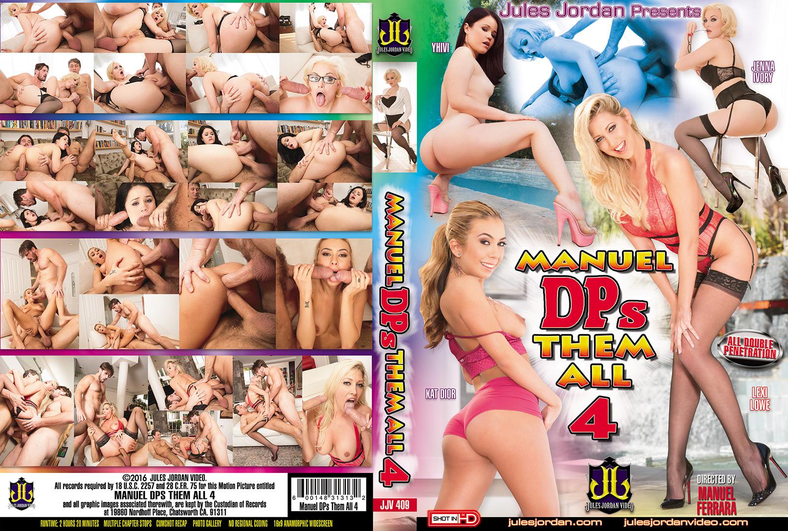 Manuel DPs Them All 4 DVD