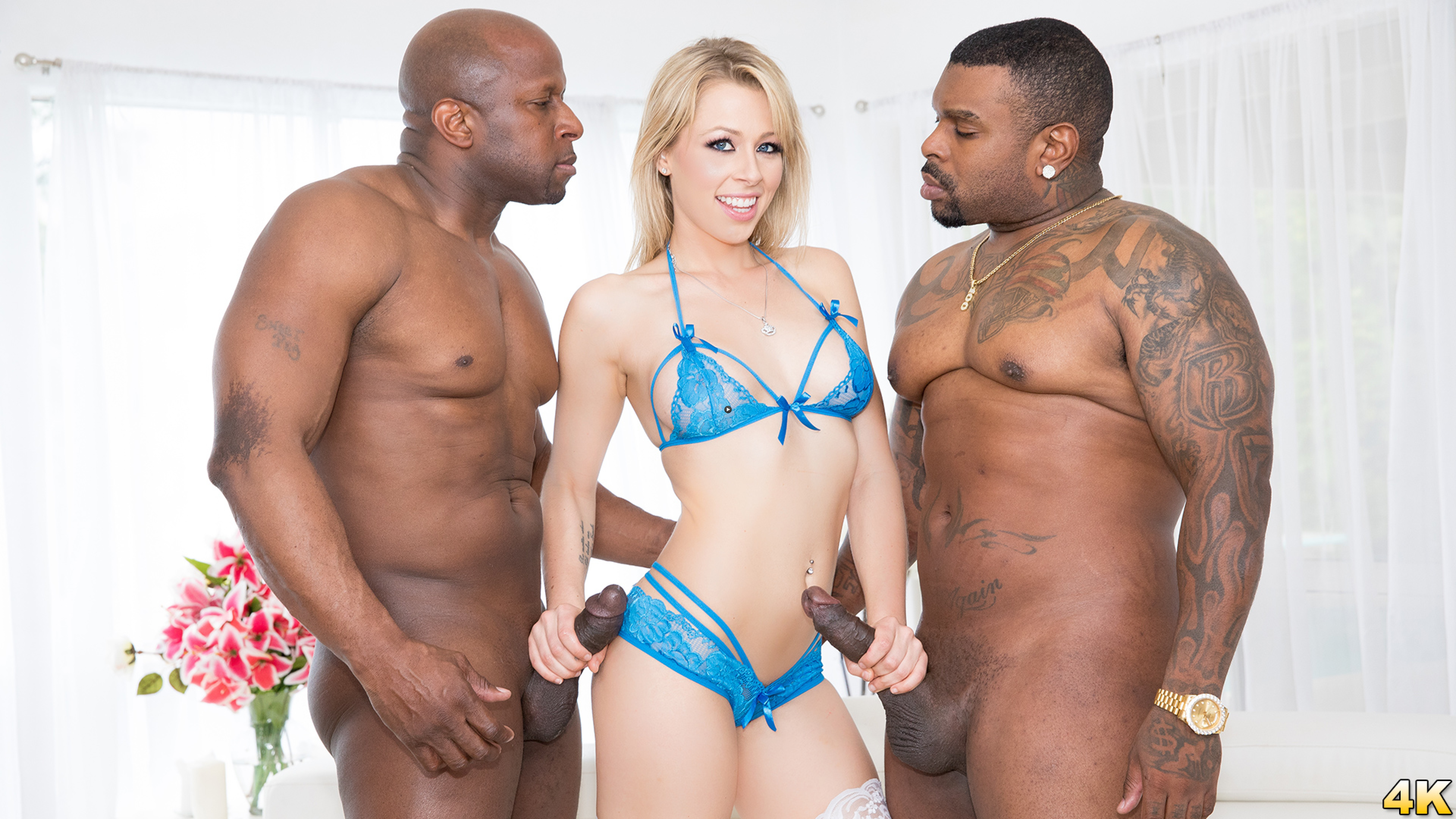 Watch Trailer Zoey Monroe Dp'd, Opens Up Her Holes For Two Big Black Cocks
