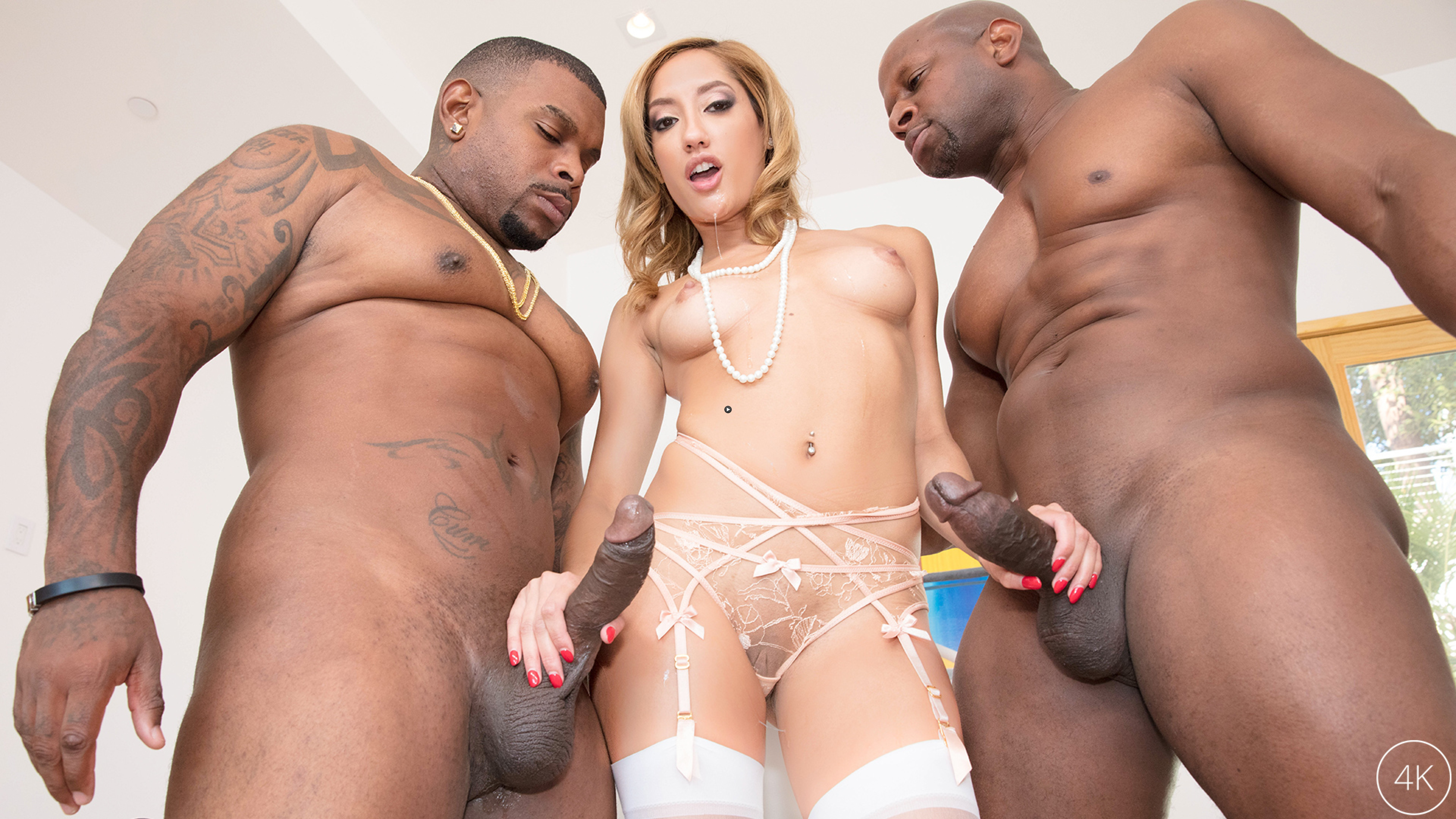 Watch Trailer Chloe Amour Takes Two BBC's To DP Heaven