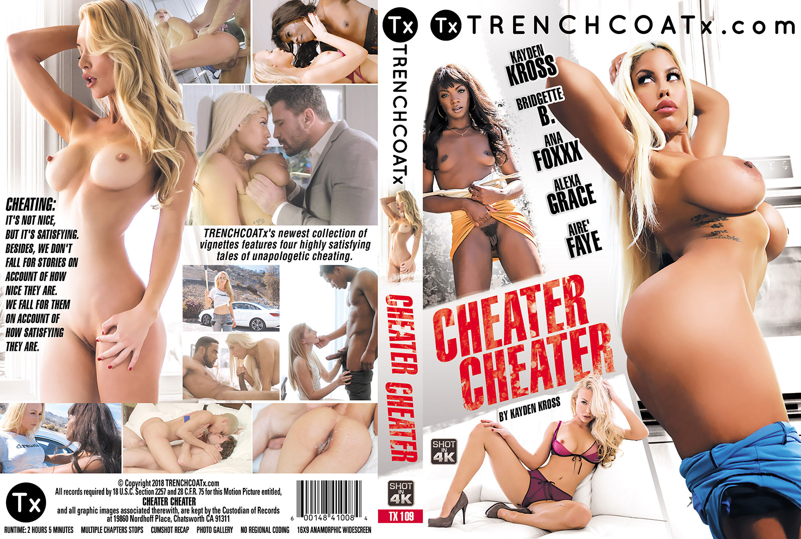 Cheater Cheater DVD