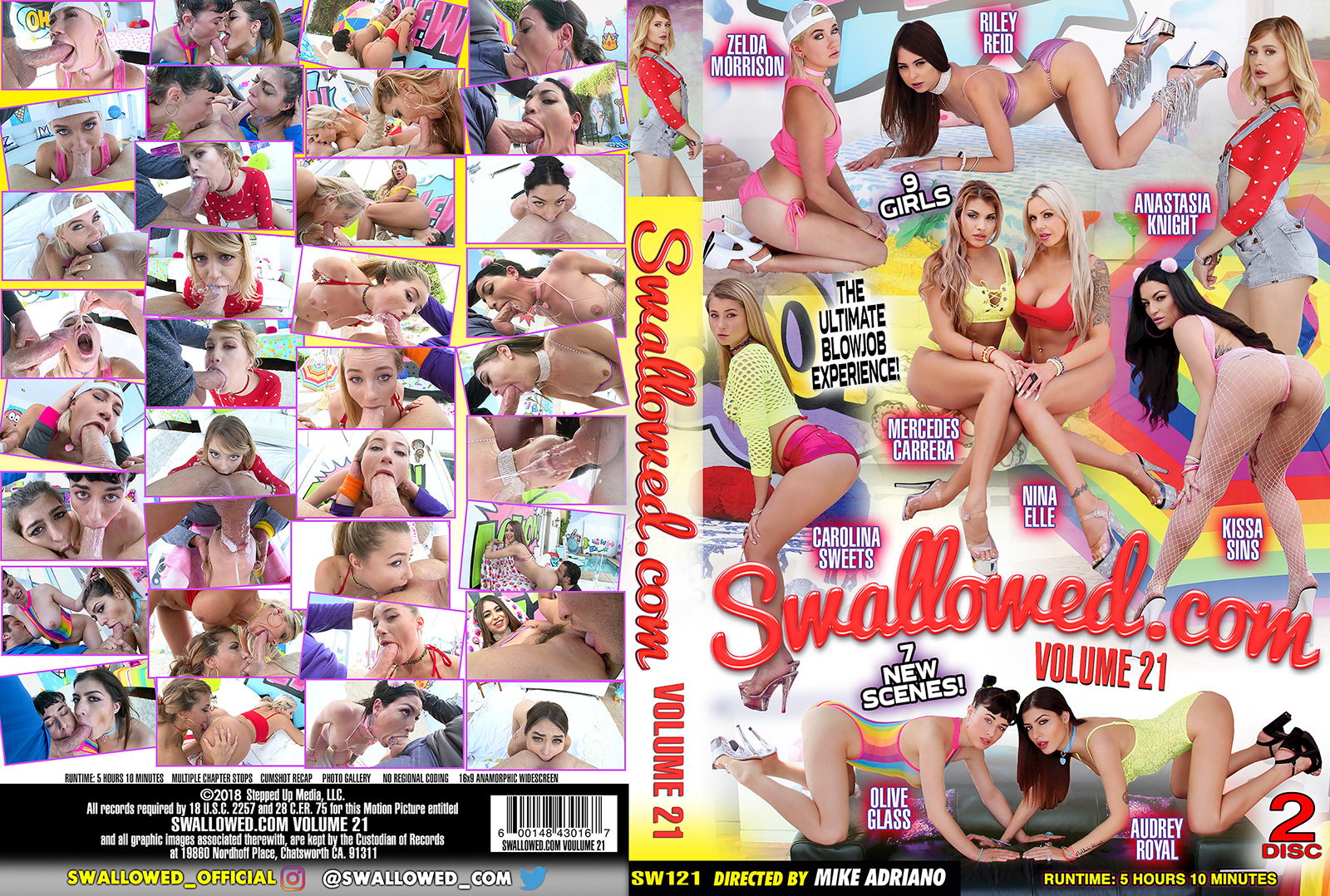 Swallowed Vol 21 DVD