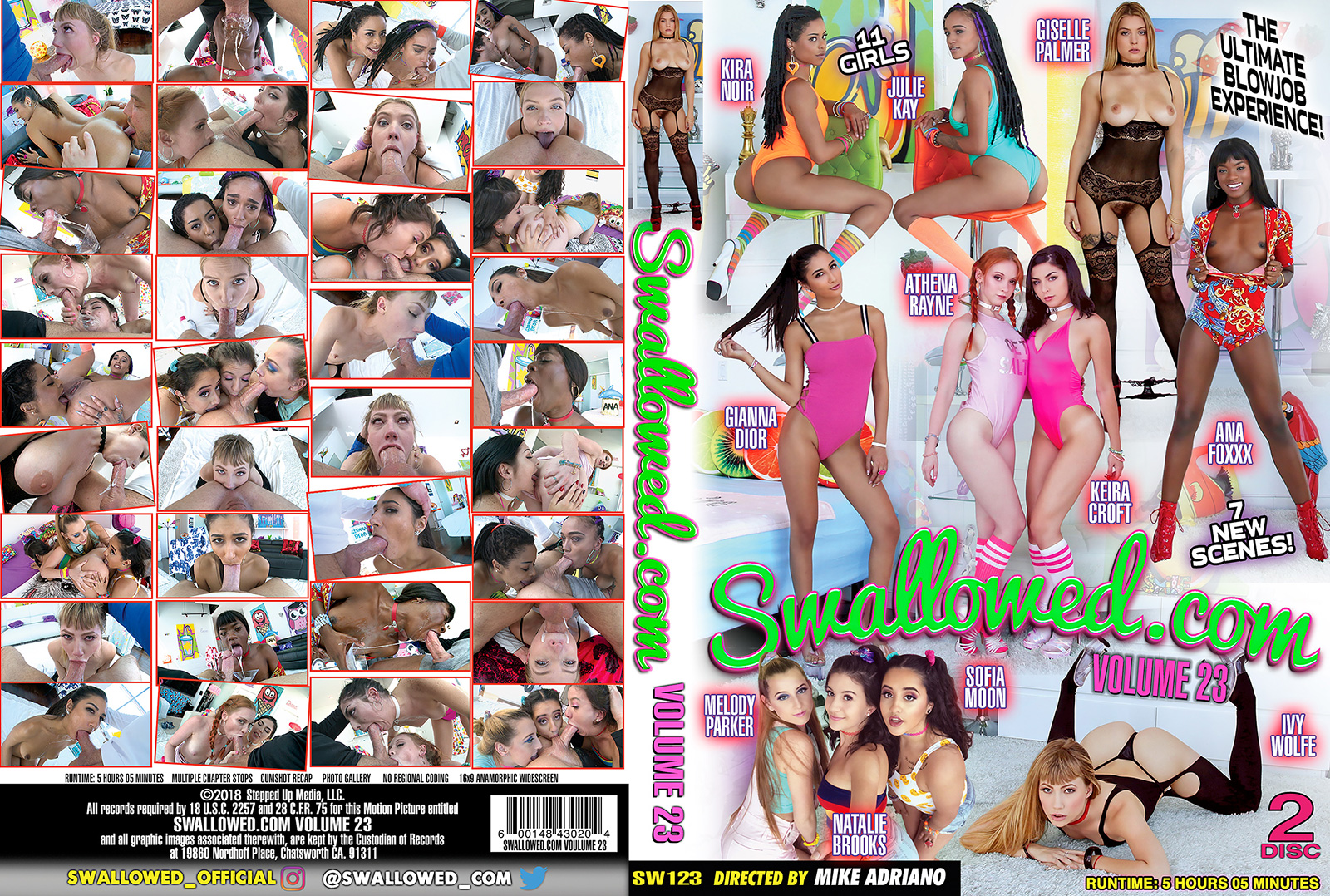 Swallowed Vol 23 DVD