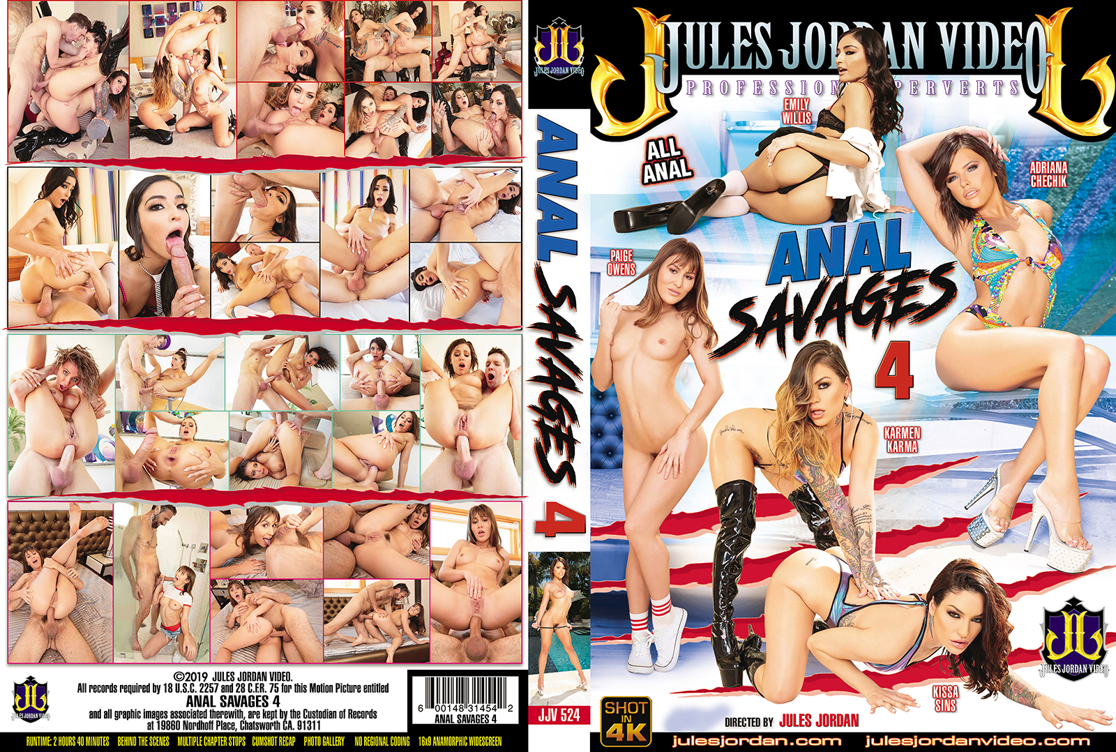 Anal Savages 4 DVD