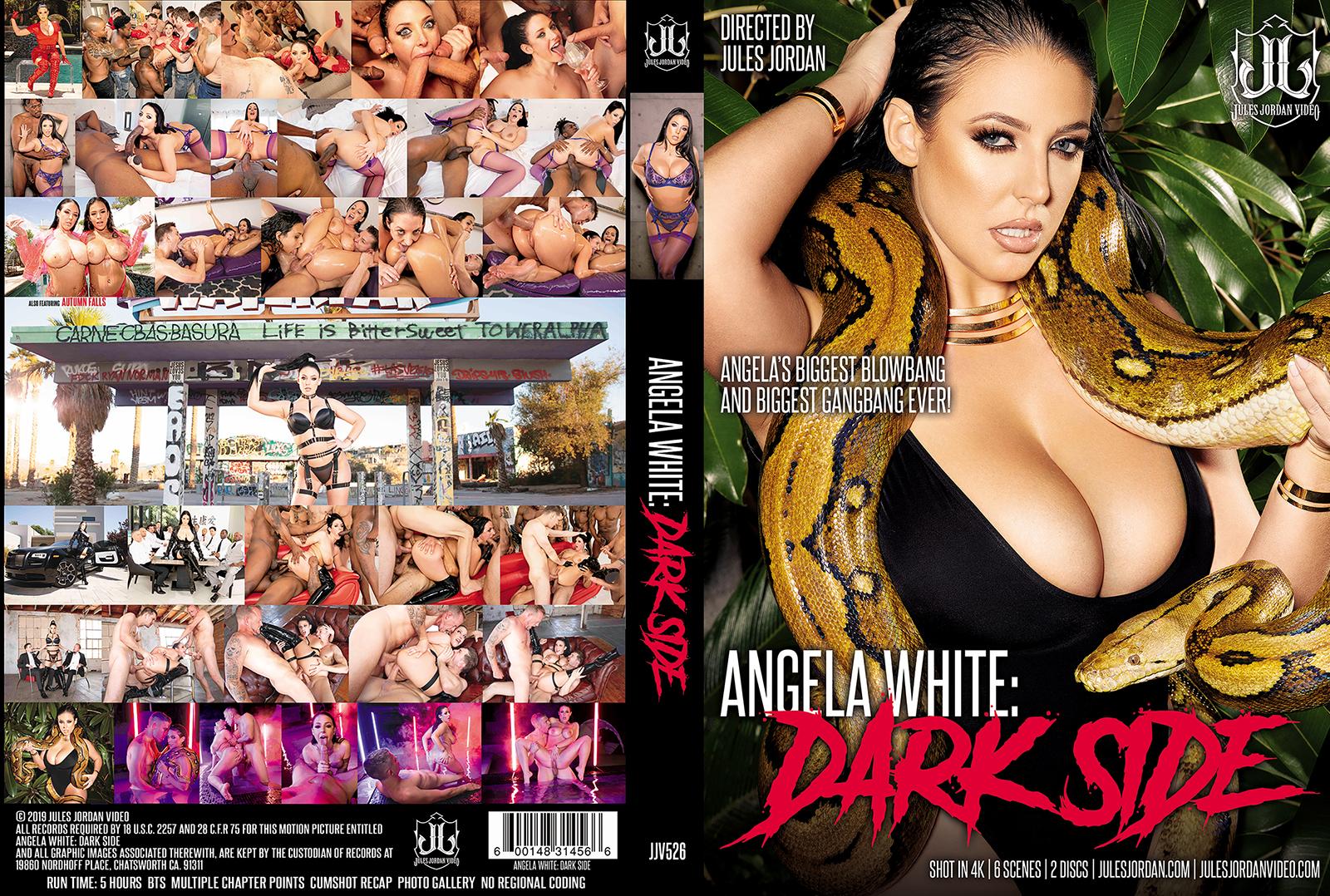 Angela White Dark Side DVD