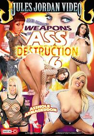Weapons of Ass Destruction 6 Blu-Ray DVD