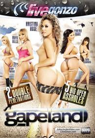 Gapeland DVD