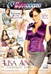 Lisa Ann Fantasy Girl DVD