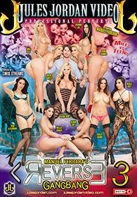 Manuel Ferraras Reverse Gangbang 3 DVD