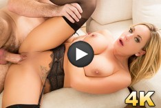 Olivia Austin Busty MILF Gets Stuffed With A Fat Cock
