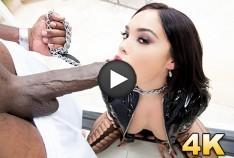 Selena Santana Hot Latina Gets The Largest Big Black Cock On The Planet