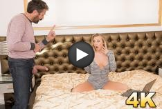 Bailey Brooke Is Caught Camming By Her Step-Father, They Put On A Show As She Swallows All His Cum