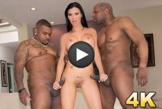 Jasmine Jae Gets Split Open By Prince & Ricco In An Interracial DP!