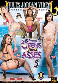 Manuel Opens Their Asses 5 DVD