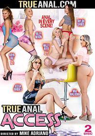 True Anal Access DVD