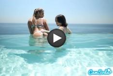 Gizelle Blanco & Liv Wild Hot Lesbian Action